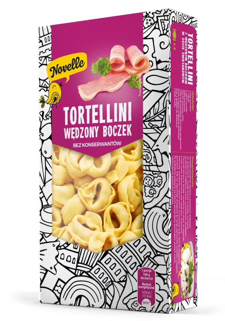 tortellini wędzony boczek